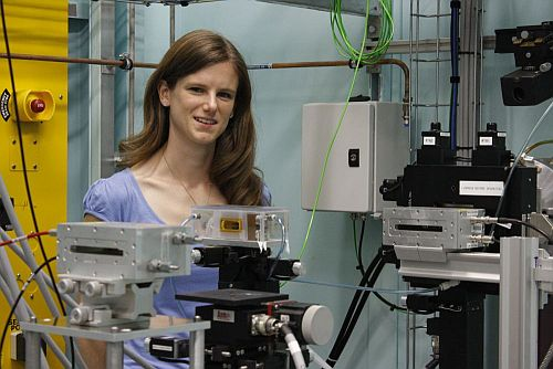 Kaye Morgan is joint winner of the 2011 Australian Synchrotron Thesis Medal